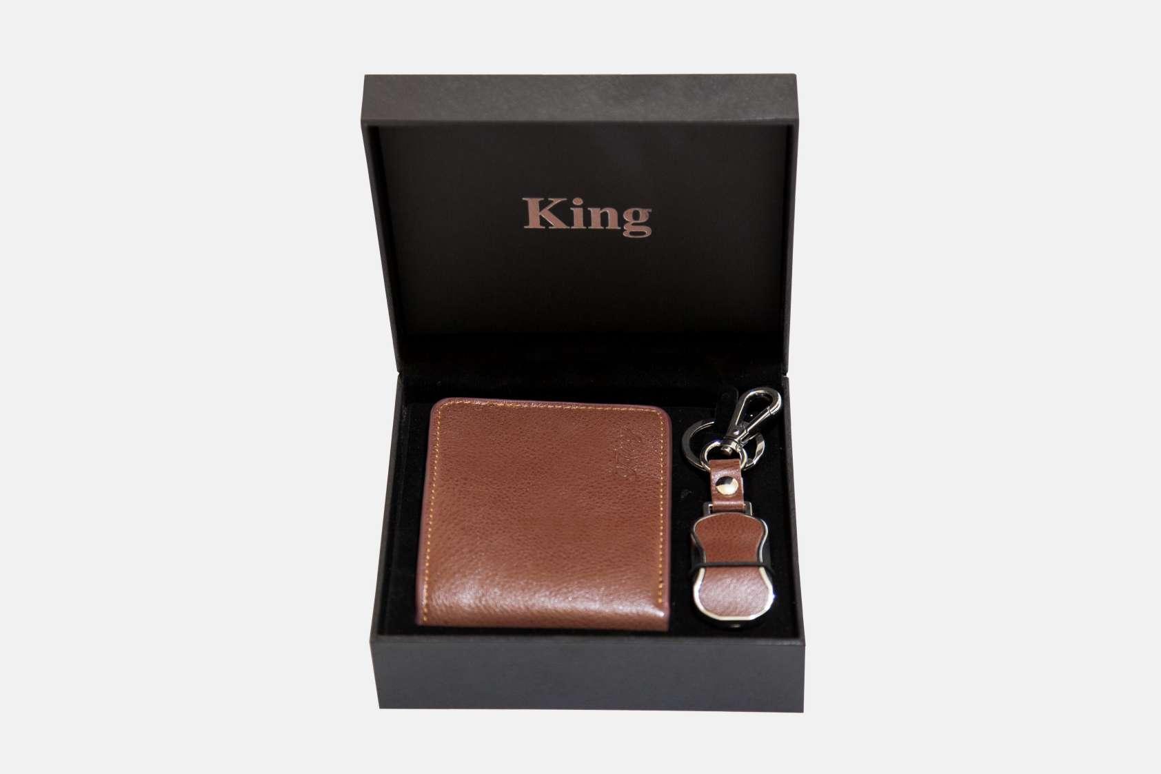 کیف پول چرمی مردانه - هدایای تبلیغاتی
